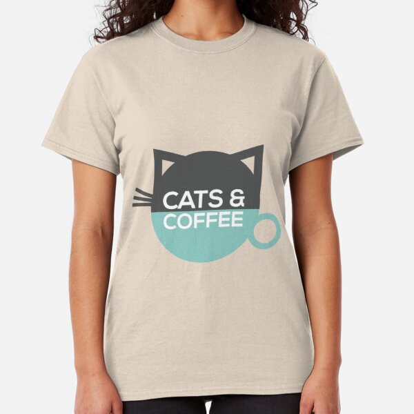 Cats and Coffee Classic T-Shirt