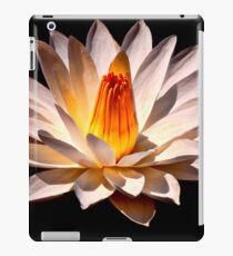 Yellow Glow Fragrant Water Lily iPad Case/Skin