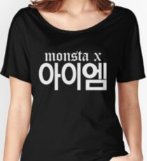 Monsta X I.M Name/Logo 2 Women's Relaxed Fit T-Shirt