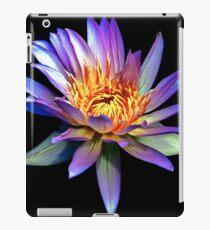 Luminous Blue Water Lily iPad Case/Skin
