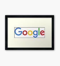 New Google Logo Framed Print