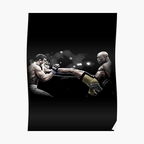 Anderson Silva - UFC Legend Poster
