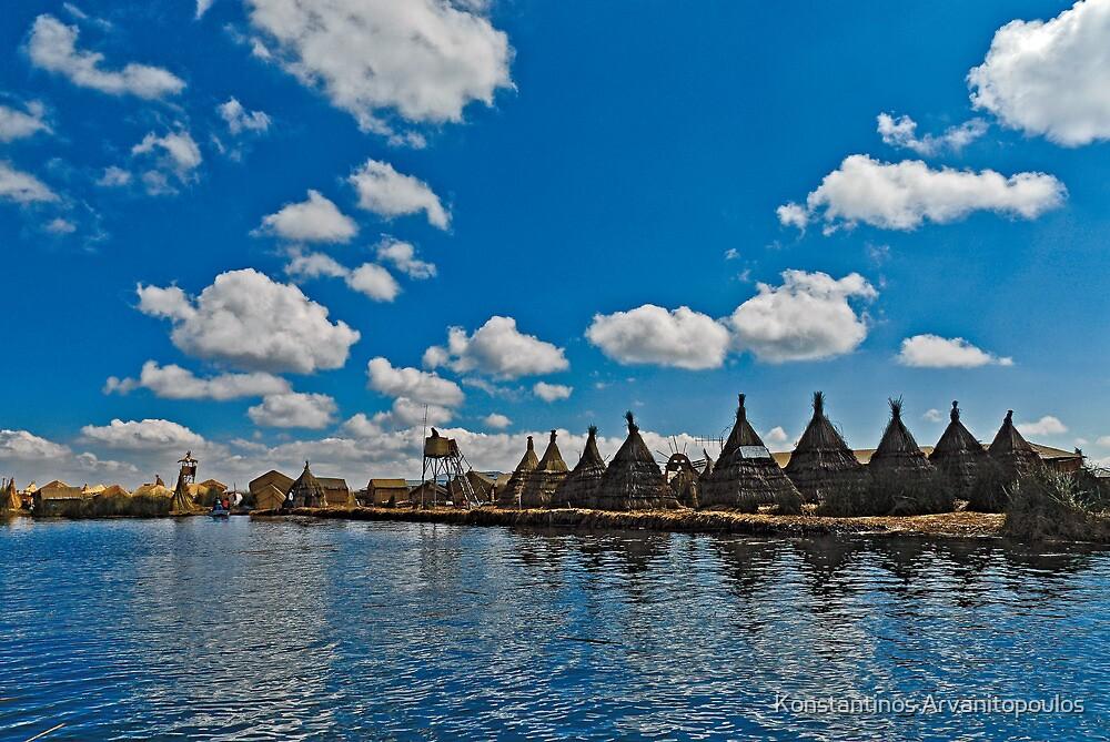 Titicaca Lake, Peru by Konstantinos Arvanitopoulos