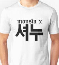 Monsta X Shownu Name/Logo T-Shirt