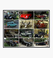 The Miller Collection of Classic Automobiles Photographic Print