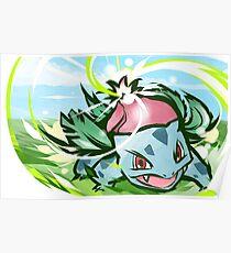 Ivysaur | Solar Beam Poster