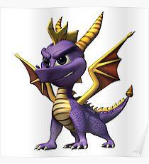 Spyro The Dragon Poster