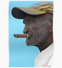 Cuban man, Trinidad, Cuba. Poster