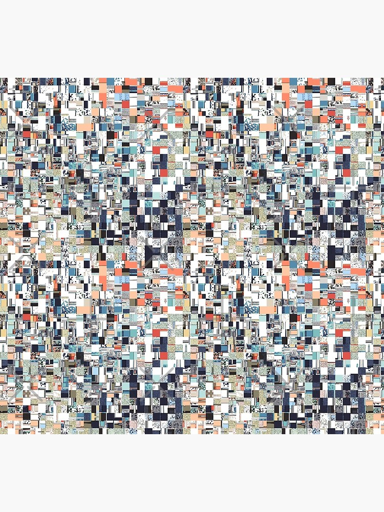 Colorful Chaotic Pattern by perkinsdesigns