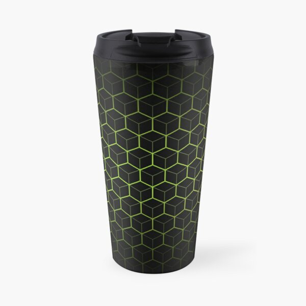 Very Cool, Super Awesome and kind of Pretty Amazing Abstract Pattern Travel Mug