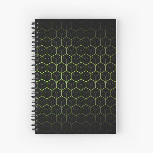 Very Cool, Super Awesome and kind of Pretty Amazing Abstract Pattern Spiral Notebook