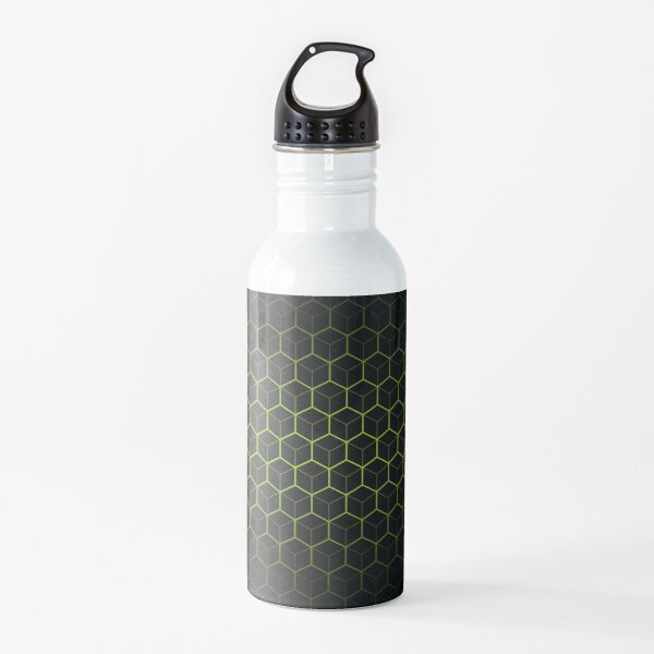 Very Cool, Super Awesome and kind of Pretty Amazing Abstract Pattern Water Bottle