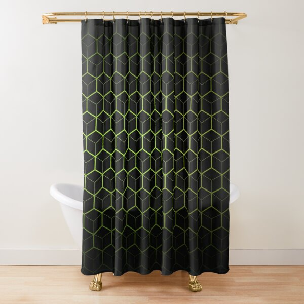 Very Cool, Super Awesome and kind of Pretty Amazing Abstract Pattern Shower Curtain