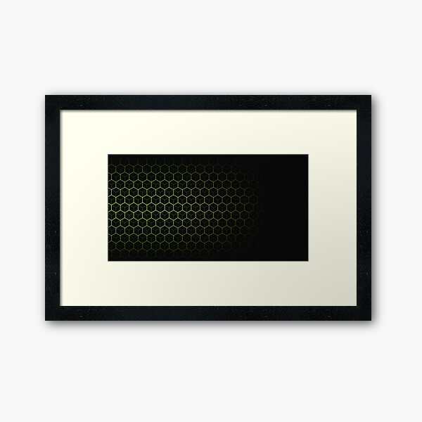 Very Cool, Super Awesome and kind of Pretty Amazing Abstract Pattern Framed Art Print