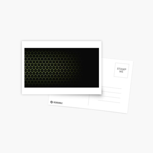 Very Cool, Super Awesome and kind of Pretty Amazing Abstract Pattern Postcard