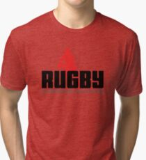 """Rugby """"No Opponents Just Victims"""" Tri-blend T-Shirt"""