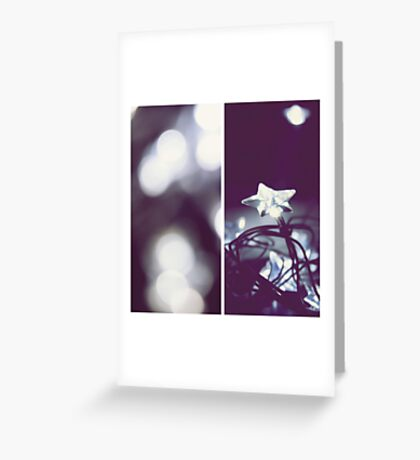 just like twinkling stars we've been connected.  Greeting Card