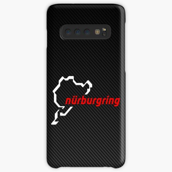 Nürburgring Carbon Fiber white / red Samsung Galaxy Snap Case