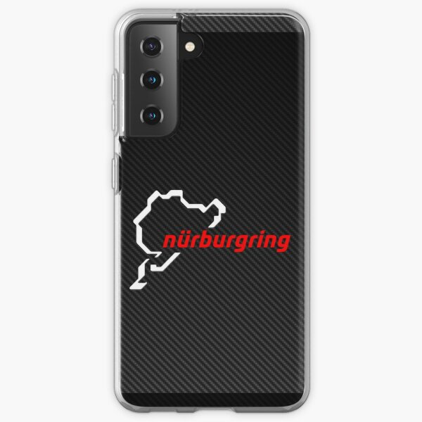 Nürburgring Carbon Fiber white / red Samsung Galaxy Soft Case