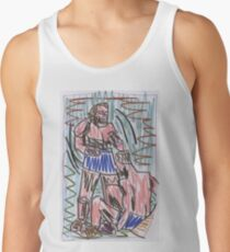 Francis Bacon Archive V (2010) (Boxing) - drawing artcollect Tank Top