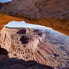 Mesa Arch by Will Hore-Lacy