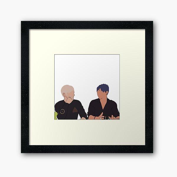 Sam and Colby Framed Art Print