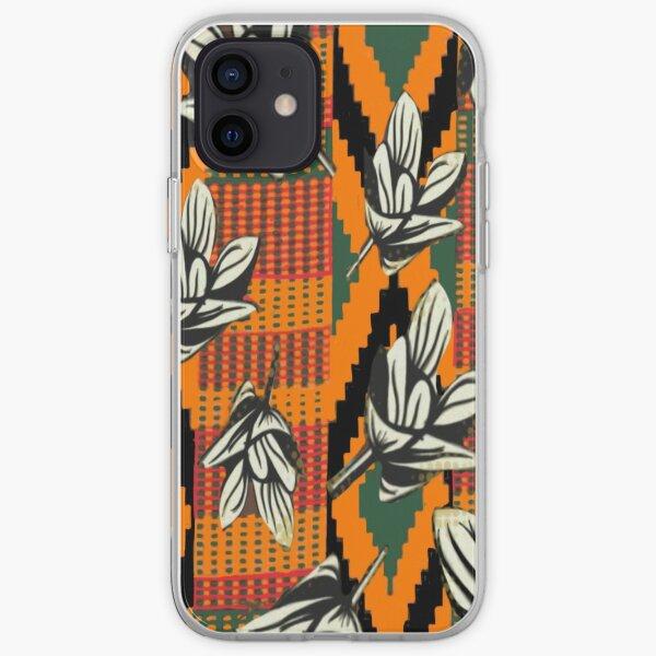 Kente Floral iPhone Soft Case