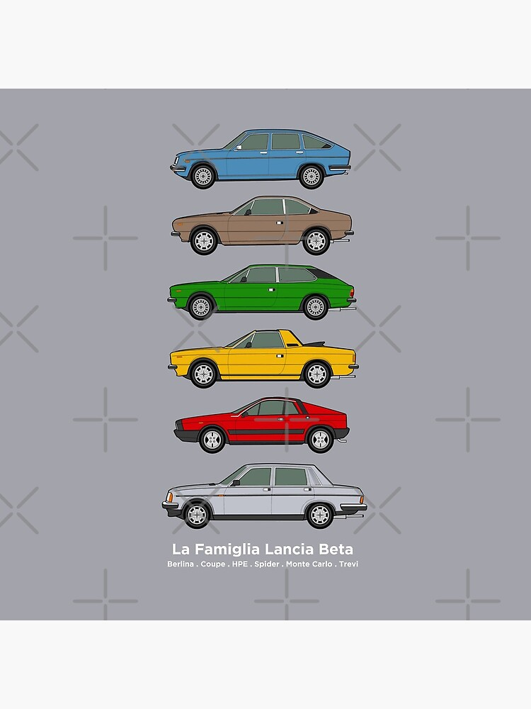 Lancia Beta Classic Car Collection by RJWautographics