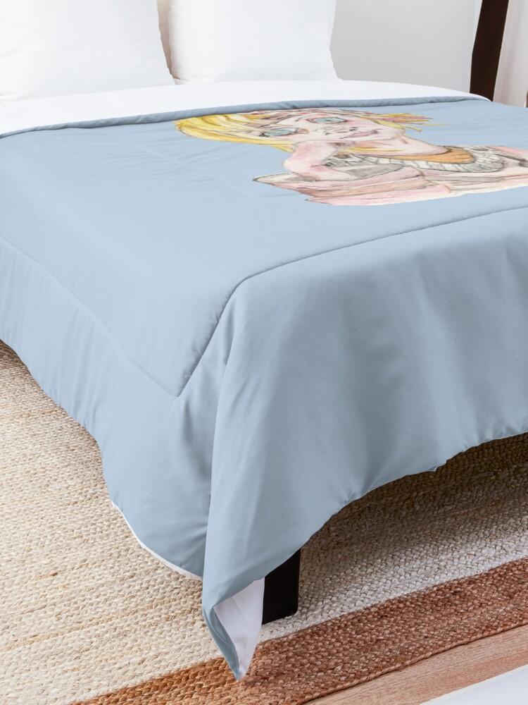 Alternate view of Tiny Tina Borderlands Fan Art Comforter