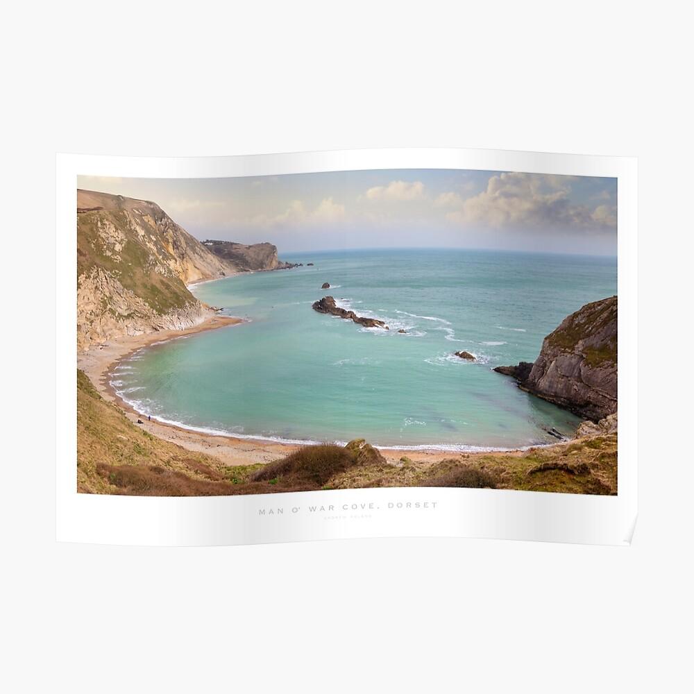 Man O' War Cove, Dorset Poster