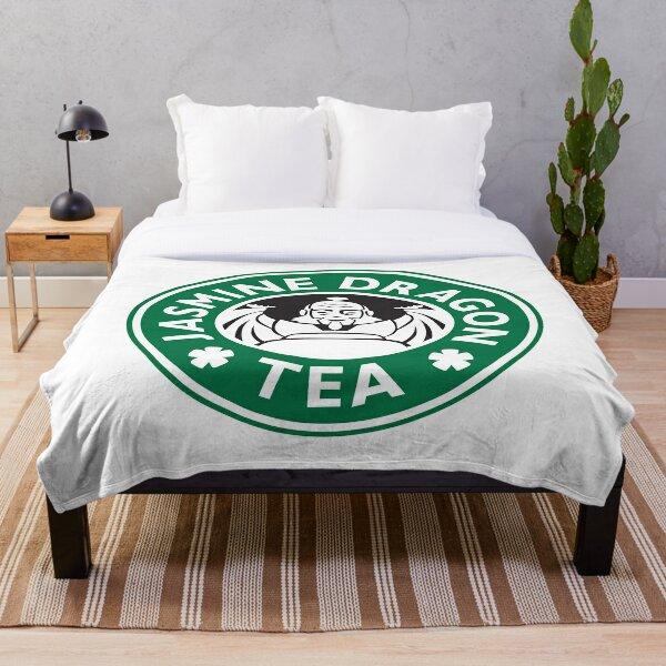 Jasmine Dragon, Uncle Iroh's Fine Tea Shop, Avatar-Inspired Design Throw Blanket