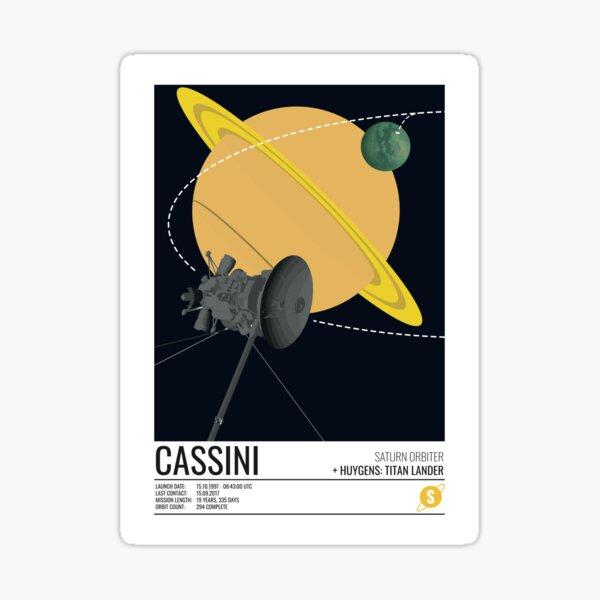 Cassini Huygens Probe Sticker