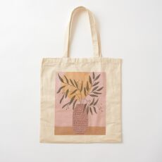 olive branch Cotton Tote Bag