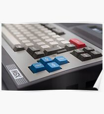 Toshiba MSX Poster