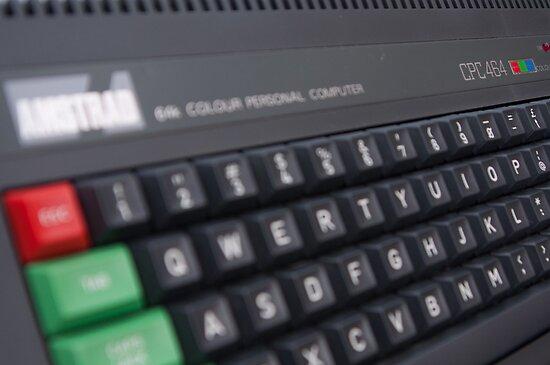 Amstrad CPC 464 by billlunney