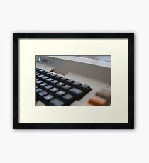 Atari 800 Framed Print