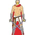 Gladiatorenkrieger 1 von Notsniw Art
