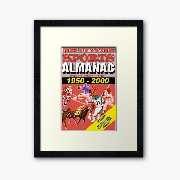 BTTF: Sports Almanac Framed Art Print