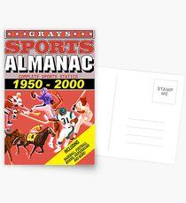 BTTF: Sports Almanac Postcards
