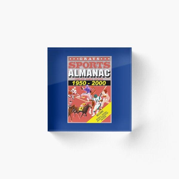 BTTF: Sports Almanac Acrylic Block