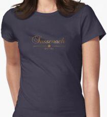 Sassenach est 1743 (Gold) Women's Fitted T-Shirt