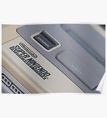 Super Nintendo (SNES) Poster