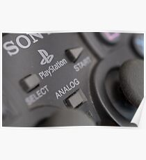 Sony Playstation controller Poster