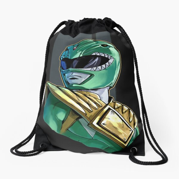 Tommy The Green Ranger Drawstring Bag