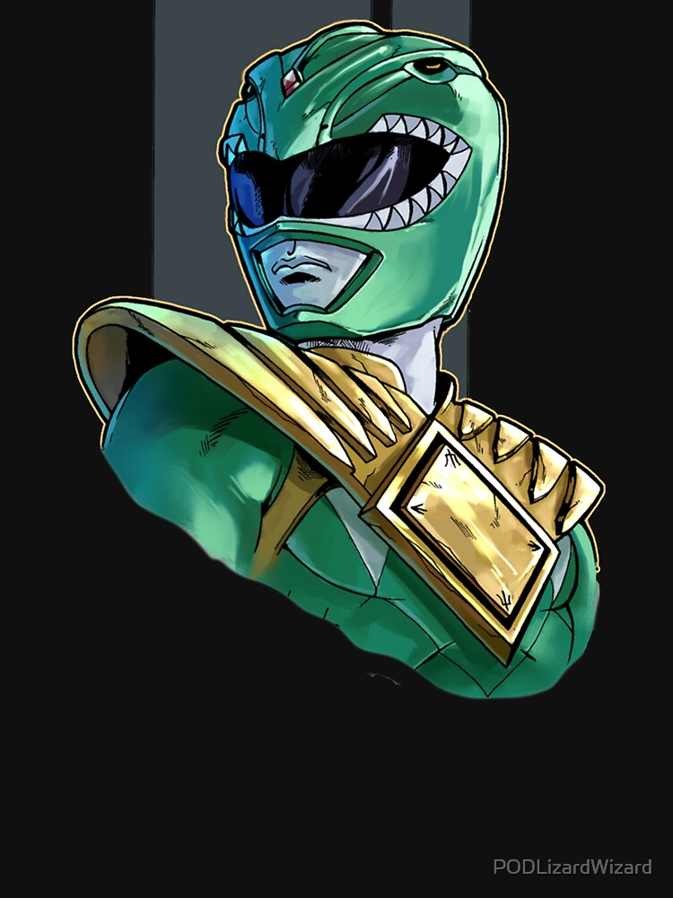 Tommy The Green Ranger by PODLizardWizard