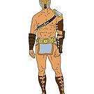Gladiatorenkrieger 4 von Notsniw Art