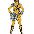 Gladiatorenkrieger 5 von Notsniw Art