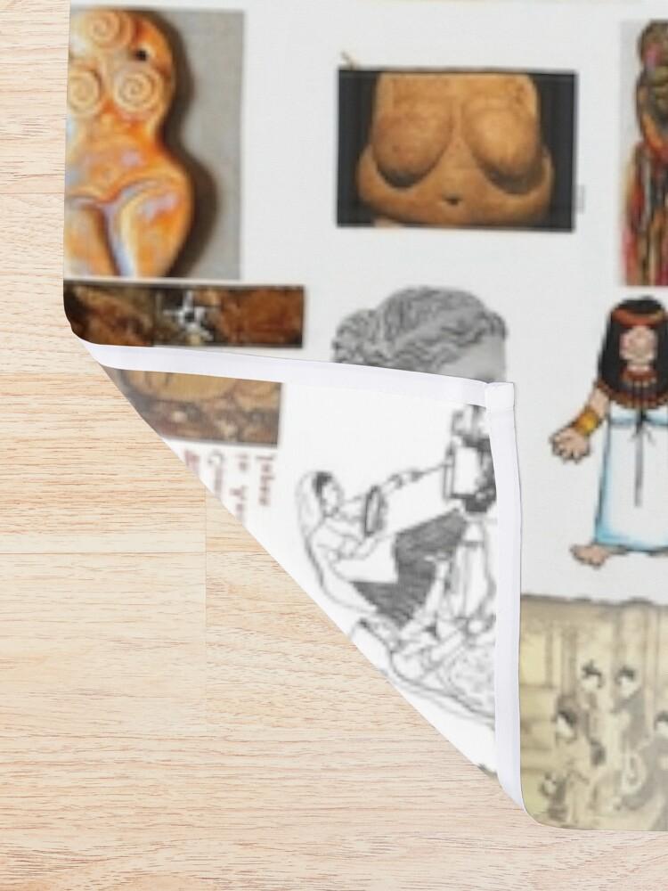 Alternate view of Ancient Venus, #Ancient, #Venus, #AncientVenus,  #древний, #pristine, #antique, #early, #venerable, #crusted, #старинный, #old, #oldest, #older, #elder Shower Curtain
