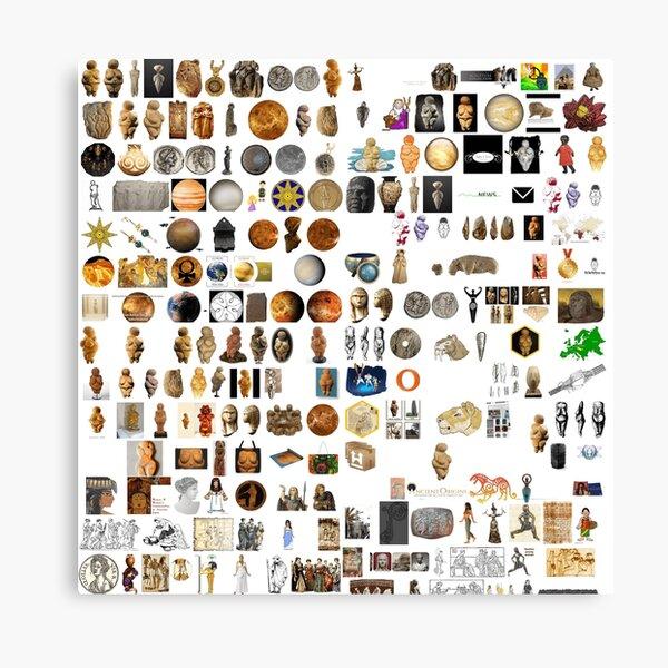 Ancient Venus, #Ancient, #Venus, #AncientVenus,  #древний, #pristine, #antique, #early, #venerable, #crusted, #старинный, #old, #oldest, #older, #elder Canvas Print