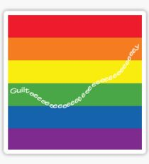 guilty gay pride family guy Sticker